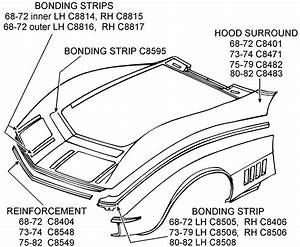 Hood Surround And Related - Diagram View