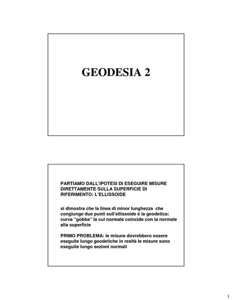 dispense topografia geodesia operativa dispense