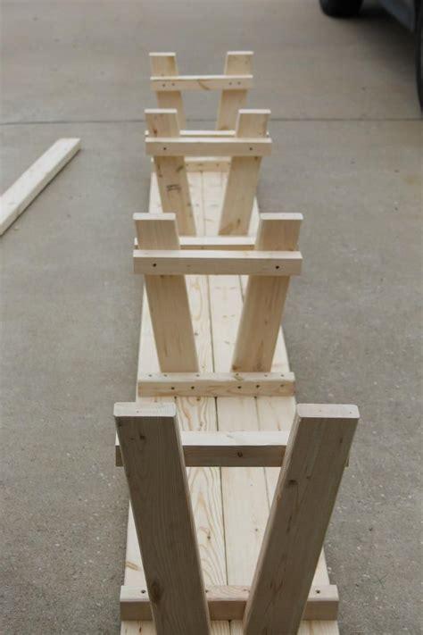 simple diy farmhouse bench tutorial  storage storage