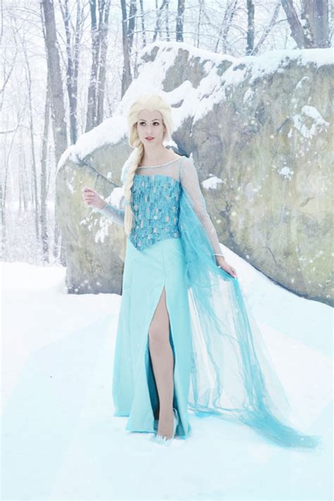 cosplay elsa kyla  inspired