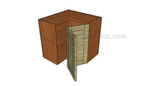 how to build a corner cabinet for a tv corner cabinet plans howtospecialist how to build