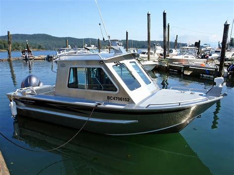 Used Fishing Boat With Cabin by 20 Bowen Aluminum Cabin Boat By Silver Streak Boats