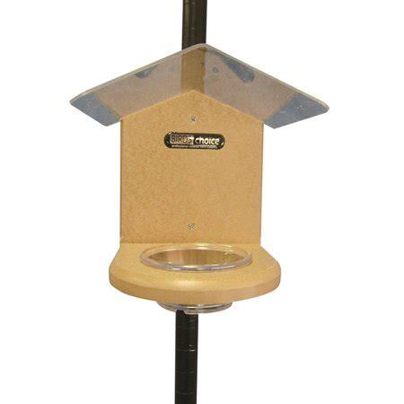 Bird Feeders Pole Mounted by Birds Choice Pole Mounted Mealworm Bird Feeder Walmart