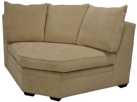 Curved Corner Sectional Sofa by Byron Sectional Sofa Curved Corner Wedge Carolina Chair