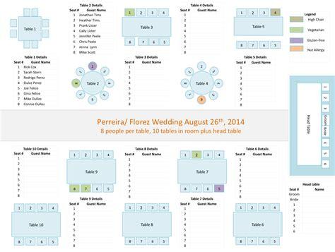 wedding seating chart template  commercewordpress