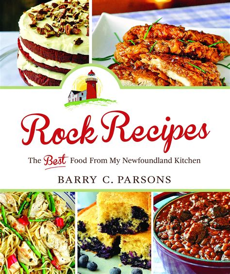 rock recipes  barry parsons cookbook review