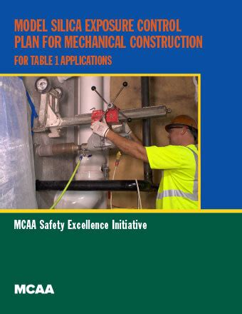 silica exposure control plan mcaa support and education for mechanical contractors nationwide