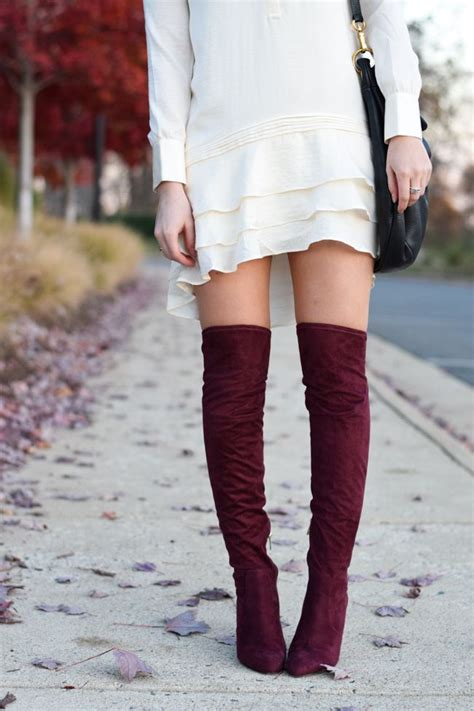 17 Best ideas about Burgundy Boots on Pinterest   Ankle boots Boots and Suede boots