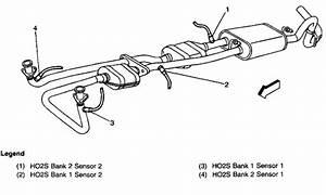 1997 Chevy Silverado Oxygen Sensor Diagram