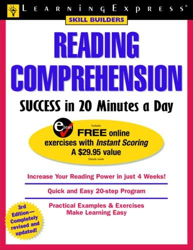 reading comprehension success   minutes  day