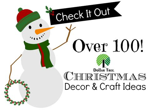 dollar tree christmas link party features and 100 ideas