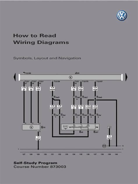 Self Study Program How Read Wiring Diagrams