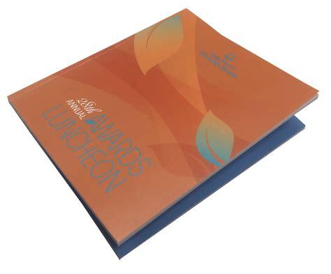 booklet print sample perfect bind design printing los