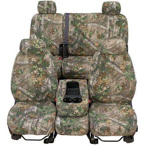 Covercraft Carhartt Custom Realtree Camo Seat Covers