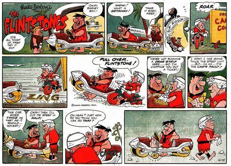 Gene Hazelton's Flintstones Comic Strip