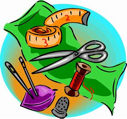 Sewing Tools Various Clipart 2421