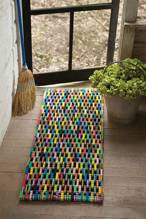 Recycled Flip Flop Doormat by Recycled Flip Flop Large Door Mat