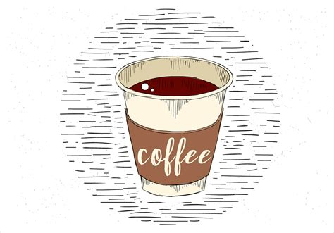 Find the perfect coffee illustration stock illustrations from getty images. Free Hand Drawn Vector Cup of Coffee Illustration - Download Free Vectors, Clipart Graphics ...