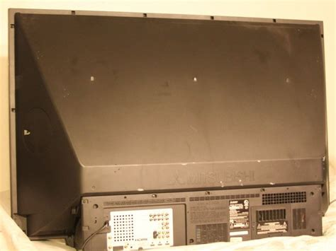 Mitsubishi Wd57734 Back Panel Replacement