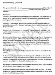business coaching contract template 28 images 8 With business coaching contract template