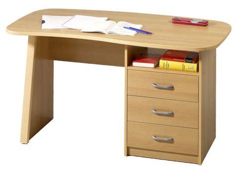 le de bureau conforama bureau 1 niche 3 tiroirs adam couleur hêtre vente de