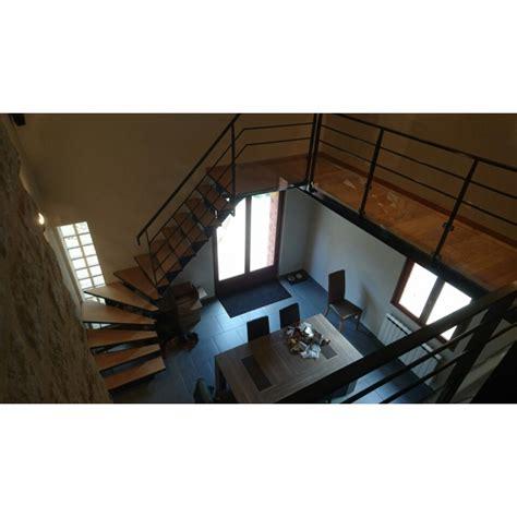 escalier sans contremarche