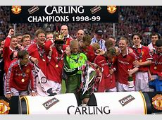 199899 Season Review Man Utd seal the treble