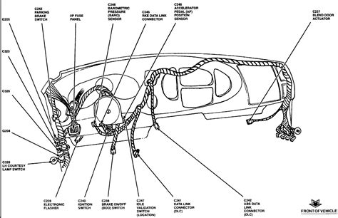 96 Ford F 350 Keyles Entry Wiring Diagram by 1997 Ford E 350 Turn Signal Location