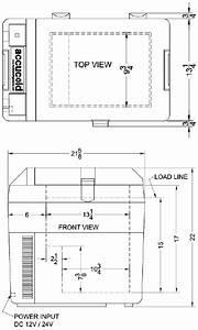 Temperature Control 12 Volt Medical Portable Refrigerator