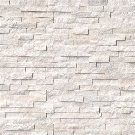 white stacked tez marble arctic white natural stacked stone veneers san francisco san jose burlingame