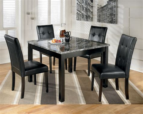 square dining table set maysville square dining room table set d154 225 ashley