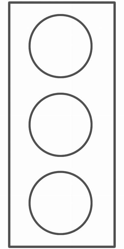 Traffic Colouring Template Stop Clipart Safety Stoplight