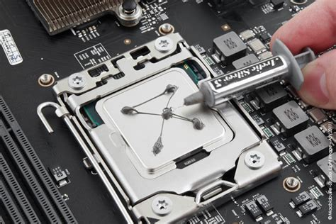 comment mettre pate thermique cpu