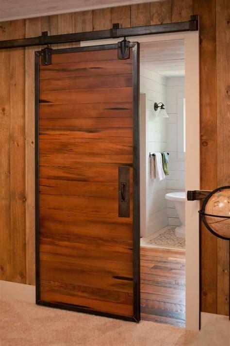 How To Frame A Barn Door by Steel Frame Reclaimed Barn Doors Evolutions