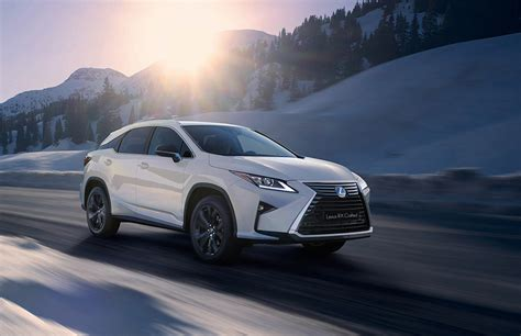 Lexus Unveils New Models In The Rx Lineup