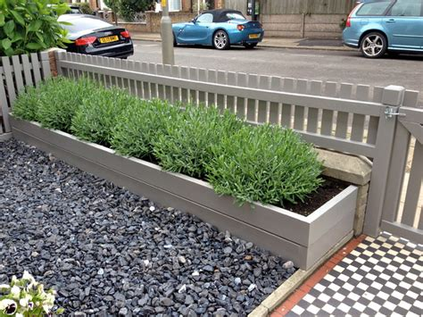 fence for front garden bespoke picket fence front garden contemporary london by c p landscapes