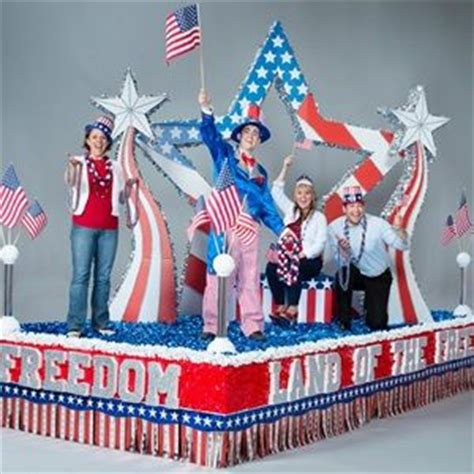 Parade Float Supplies Canada by Patriotic Parade Floats Home Gt Gt Parade Float