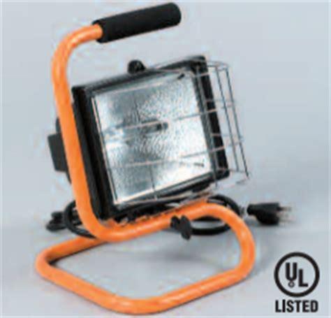 Halogen Floor Ls 500w by Warner Tool Products Q11011 500w Halogen Floor Light