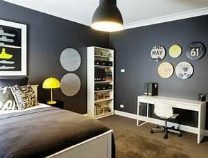 chambre ado design 35 idees que vos ados adorent With modele chambre ado garcon