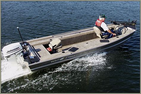 Reviews On War Eagle Boats by Research 2009 War Eagle Boats 754 Vs On Iboats