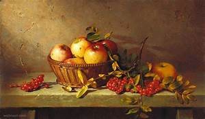 fruitst still life painting by dmitriy annenkov 16 - Full ...