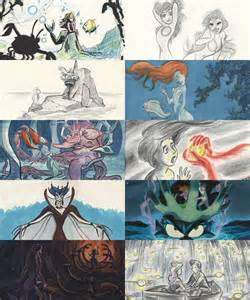 Disney Little Mermaid Concept Art