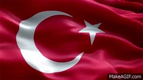 tuerk bayragi animasyon  hd turkish flag