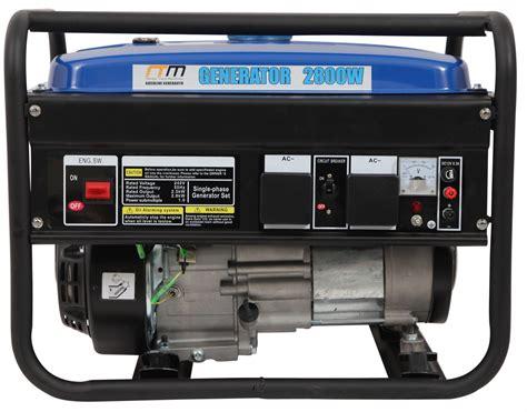 hp petrol generator portable backup power camping