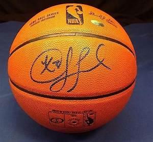Chris Paul Signed Basketball, Autographed NBA Basketballs