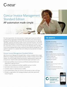 concur standard invoice management With concur invoice pricing