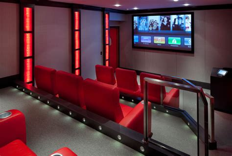 laurel woods home theater contemporary home theater