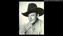 Bob Nolan (Sons Of The Pioneers) -- Trail Dreamin' - YouTube