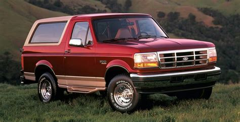 history   ford bronco blue oval trucks