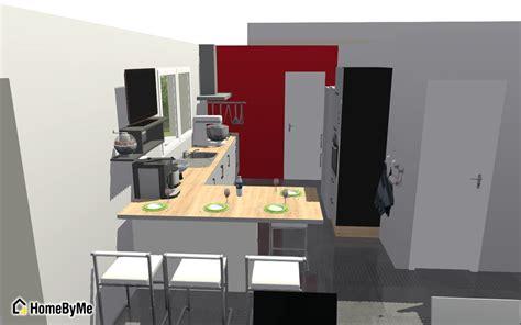 modelisation cuisine début du vide sanitaire plan de la cuisine évacuations